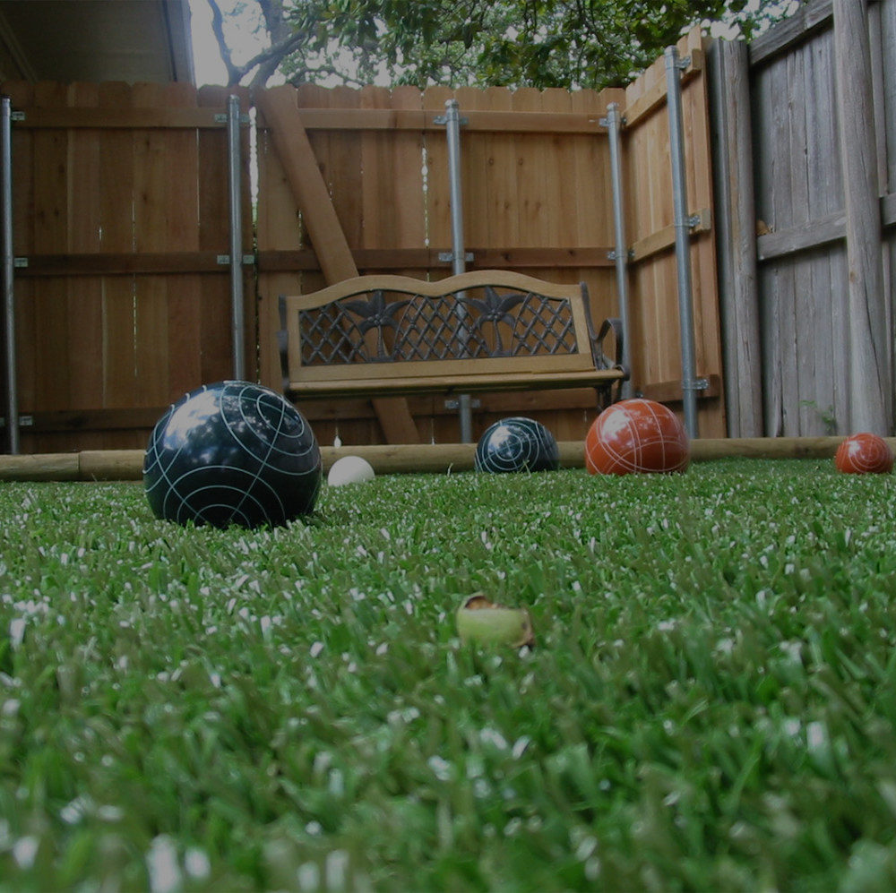 Synthetic turf in your back yard